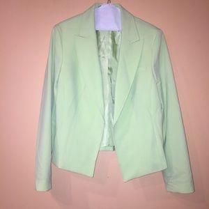 LIKE NEW: Mint Green Blazer